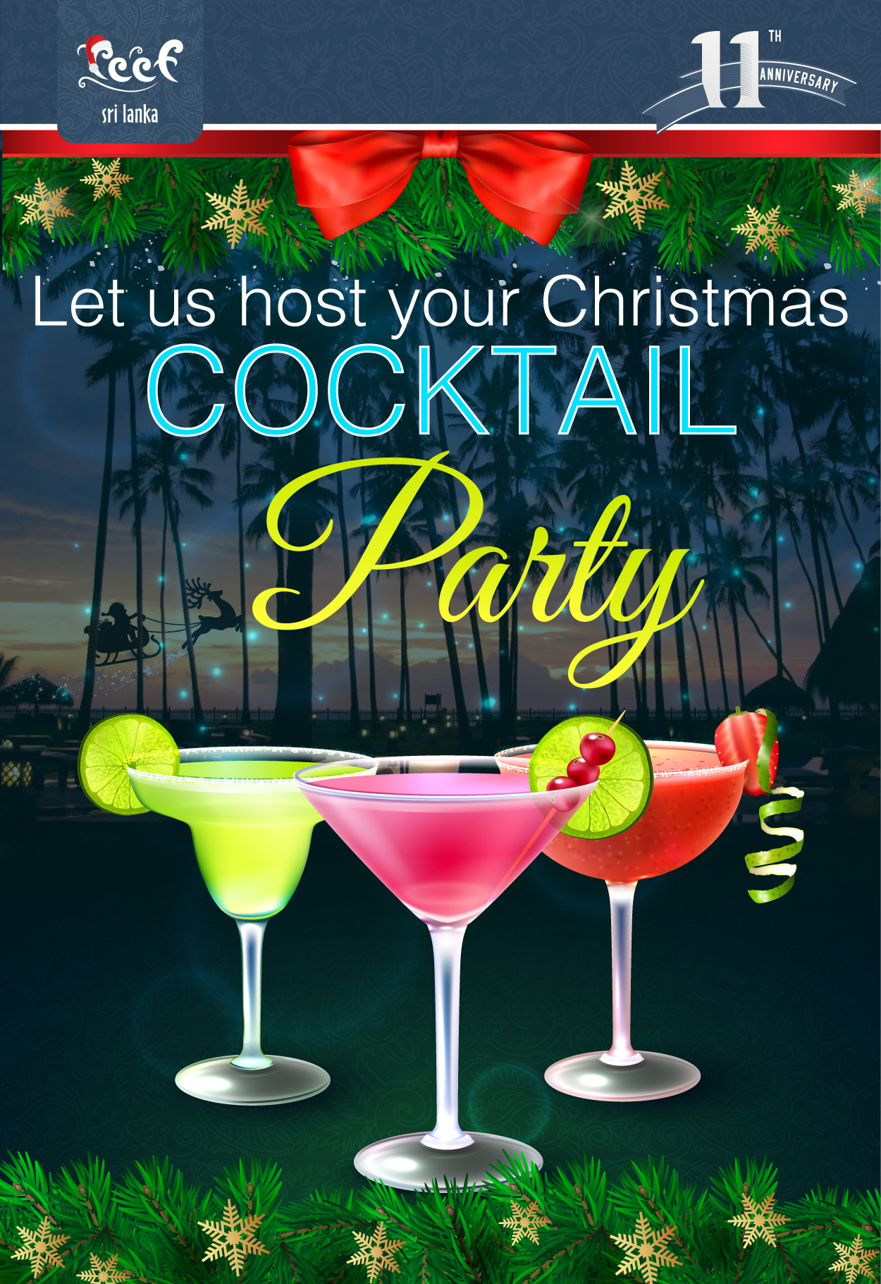 Reef Christmas Cocktail Party
