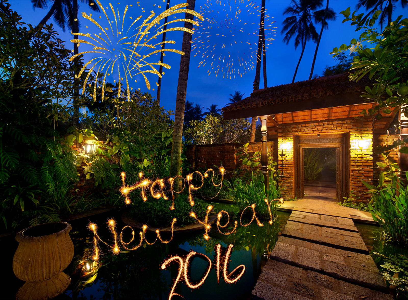Happy New Year 2016 from Reef Villa & Spa